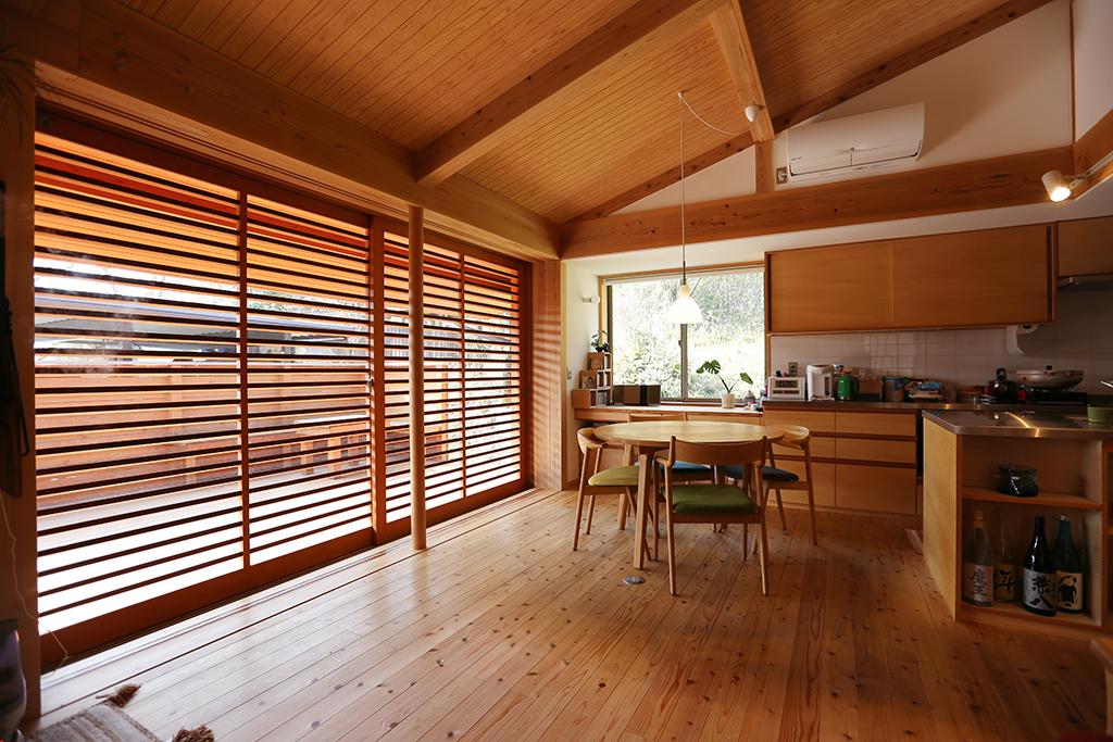 姫路市の木の家 LDK