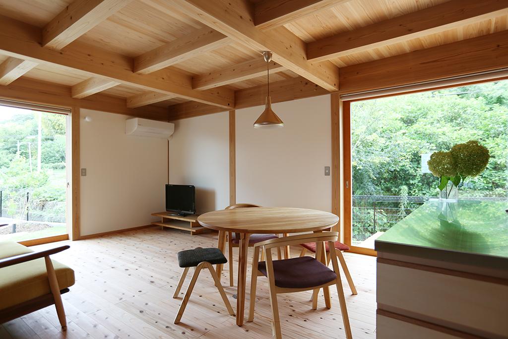 高砂市の木の家 LDK