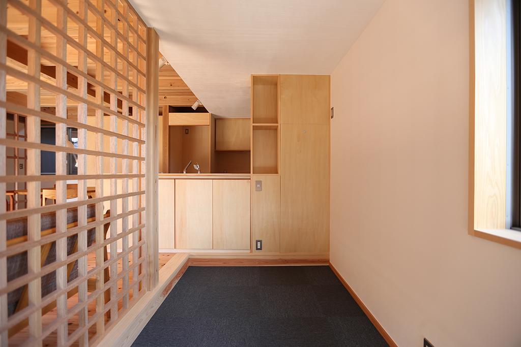 姫路市の木の家 籠もり部屋