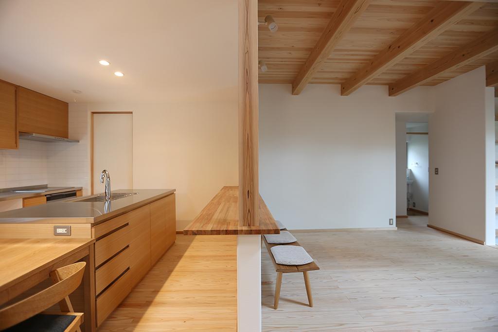 三田市の木の家 LDK