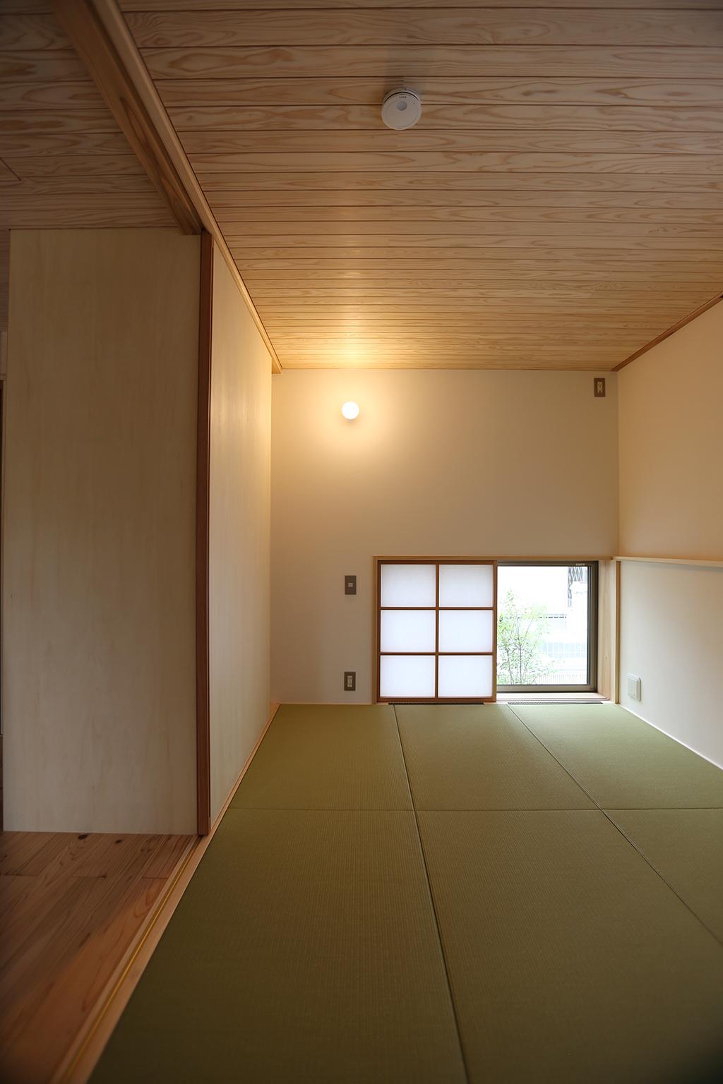 高砂市の木の家 客間としても使える和室