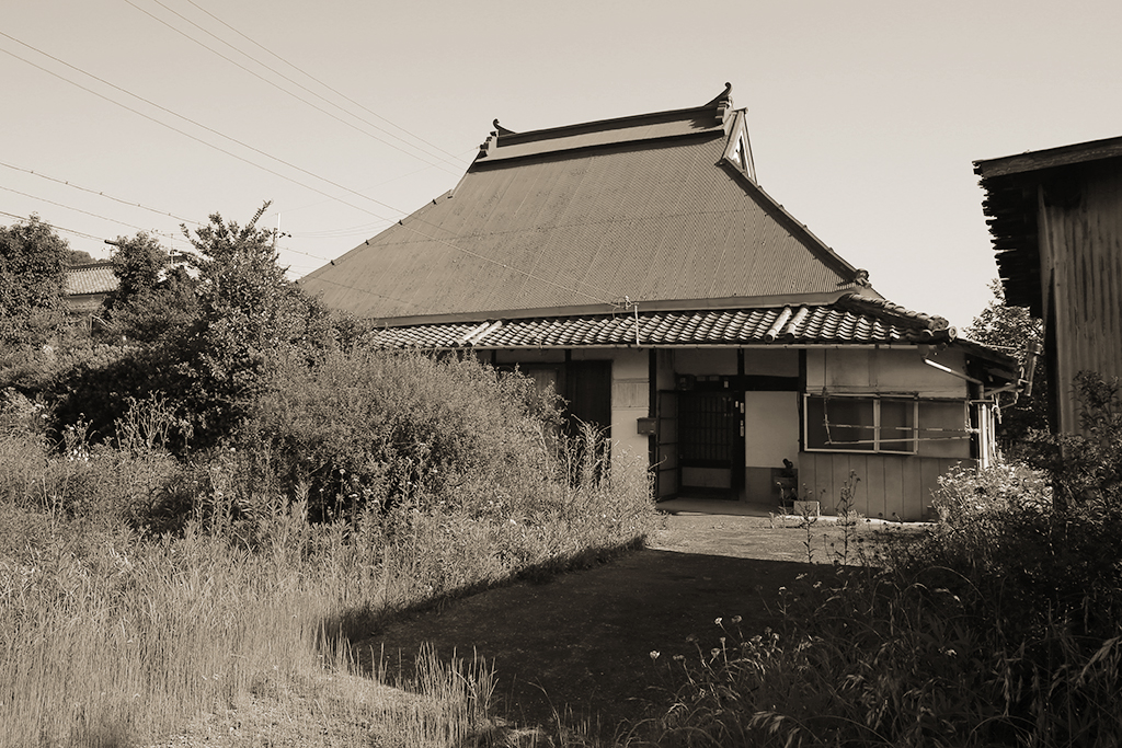 神崎郡の家 工事前外観