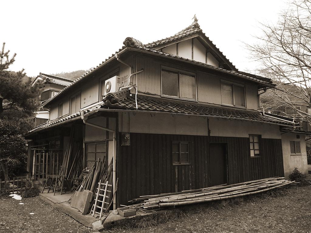 宍粟市の木の家 工事前外観