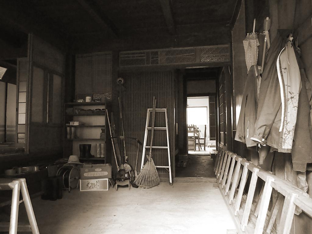宍粟市の木の家 工事前内観