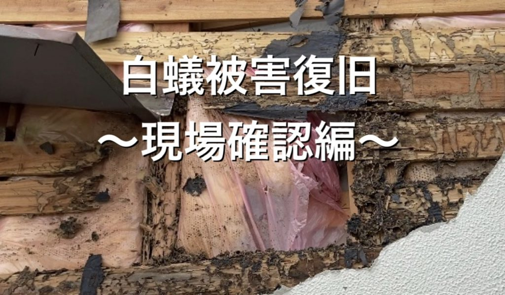 白蟻被害復旧