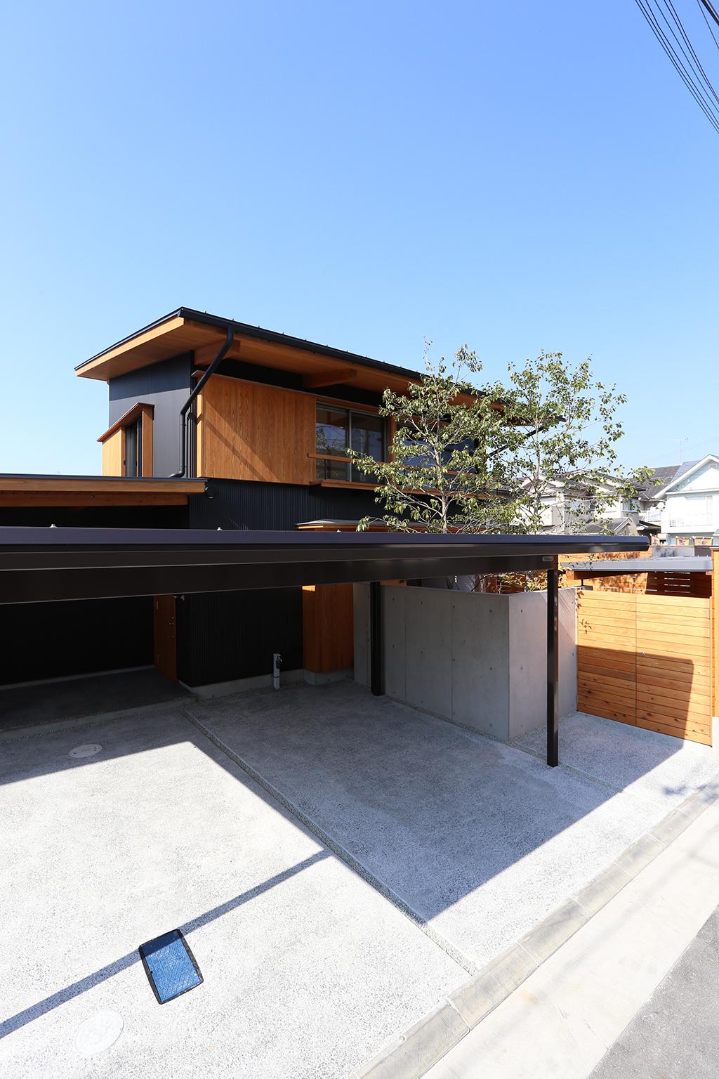 加古川市の木の家 外観