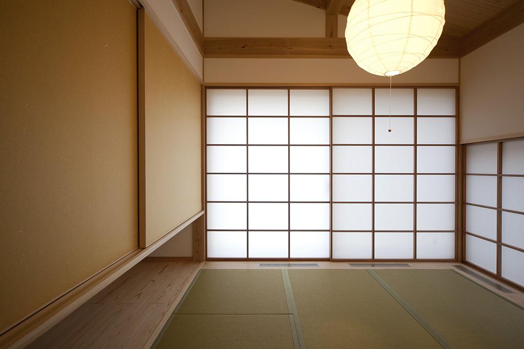 加古川市の木の家 畳の寝室
