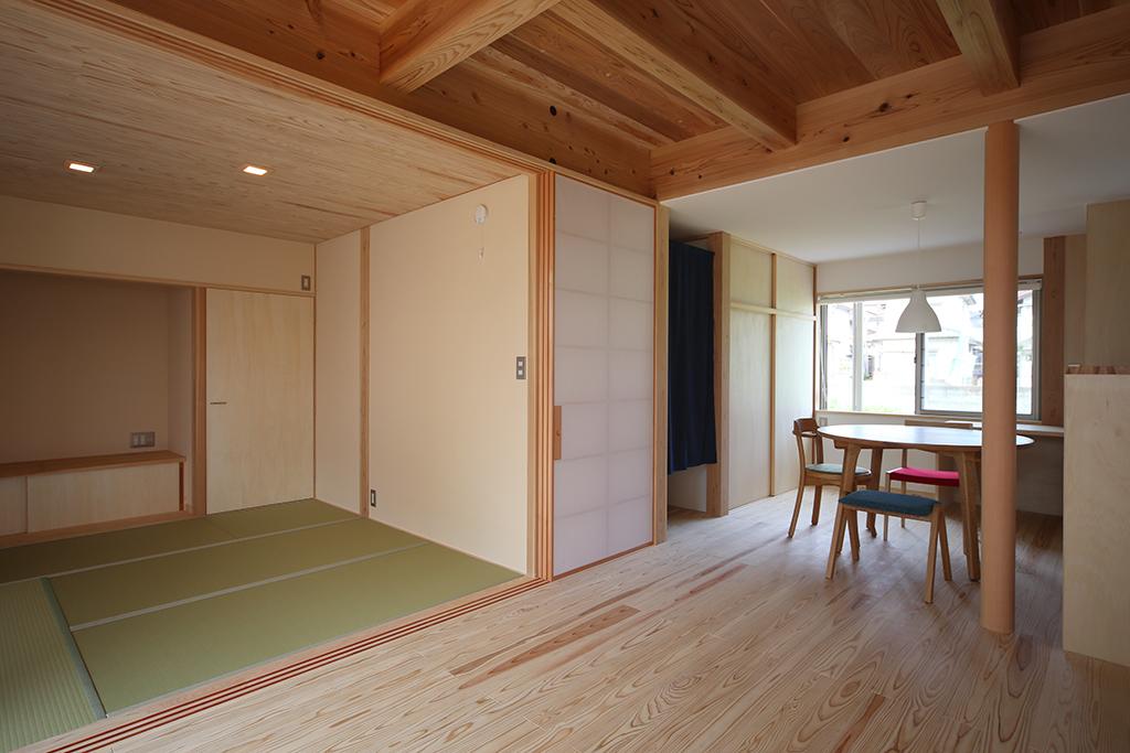 加古川市の木の家 ひとつながりのLDK