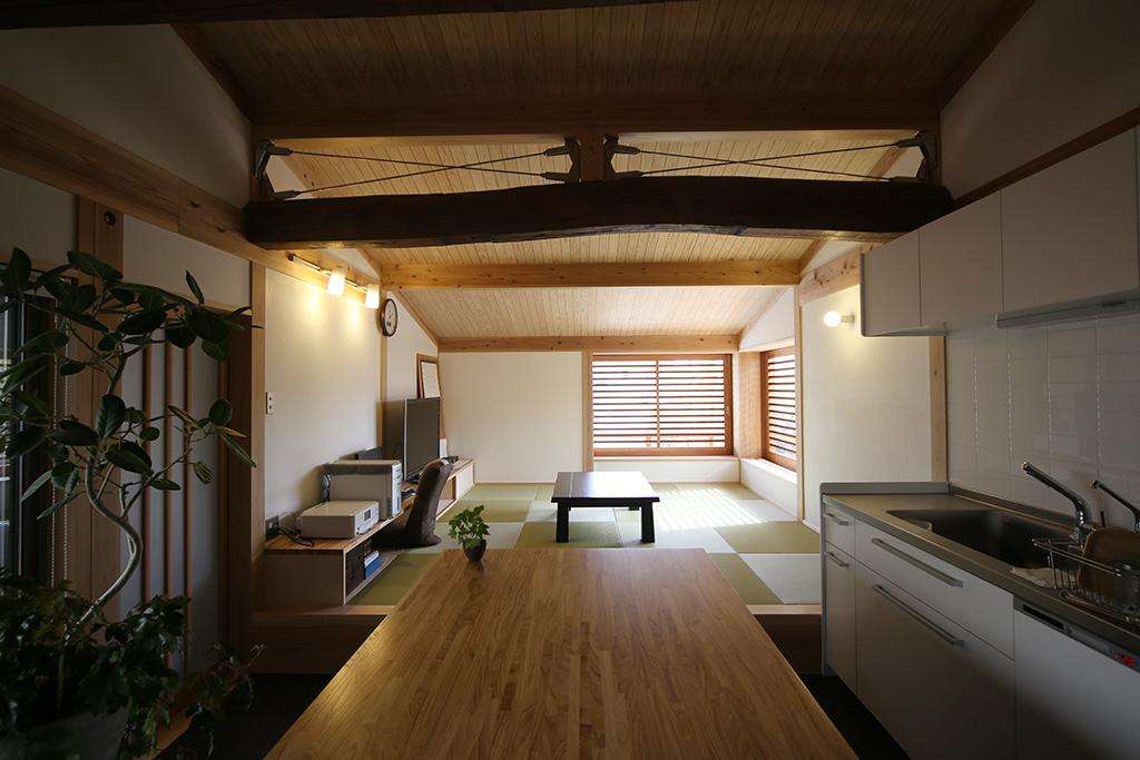 神戸市の木の家 キッチン