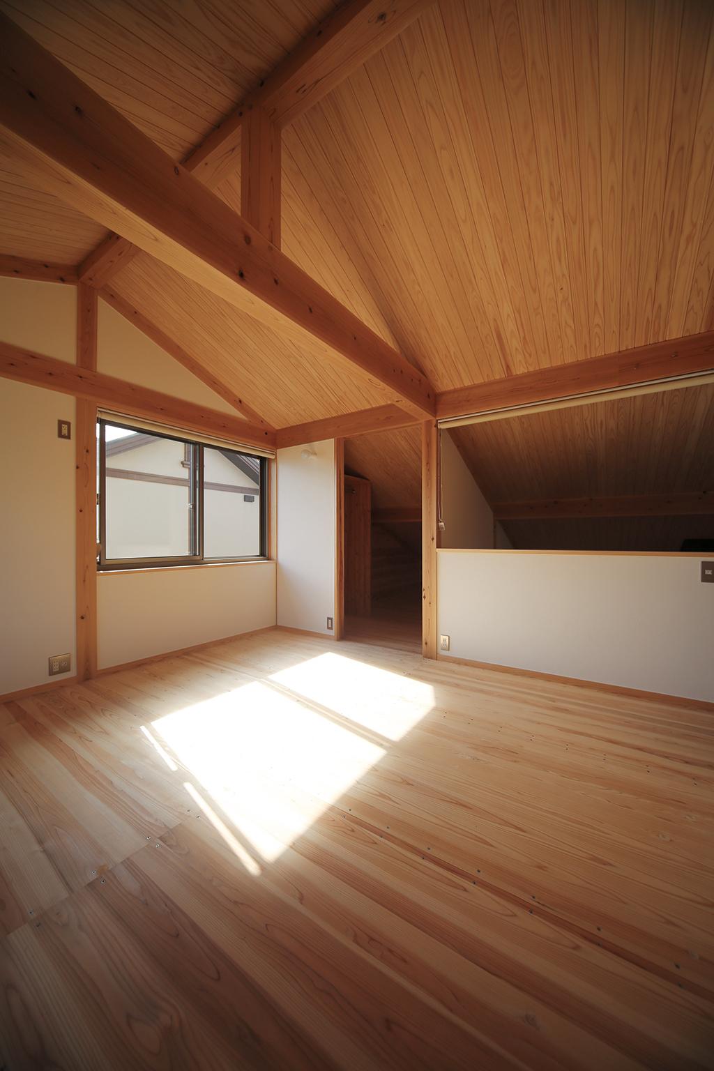 姫路市の木の家 2階