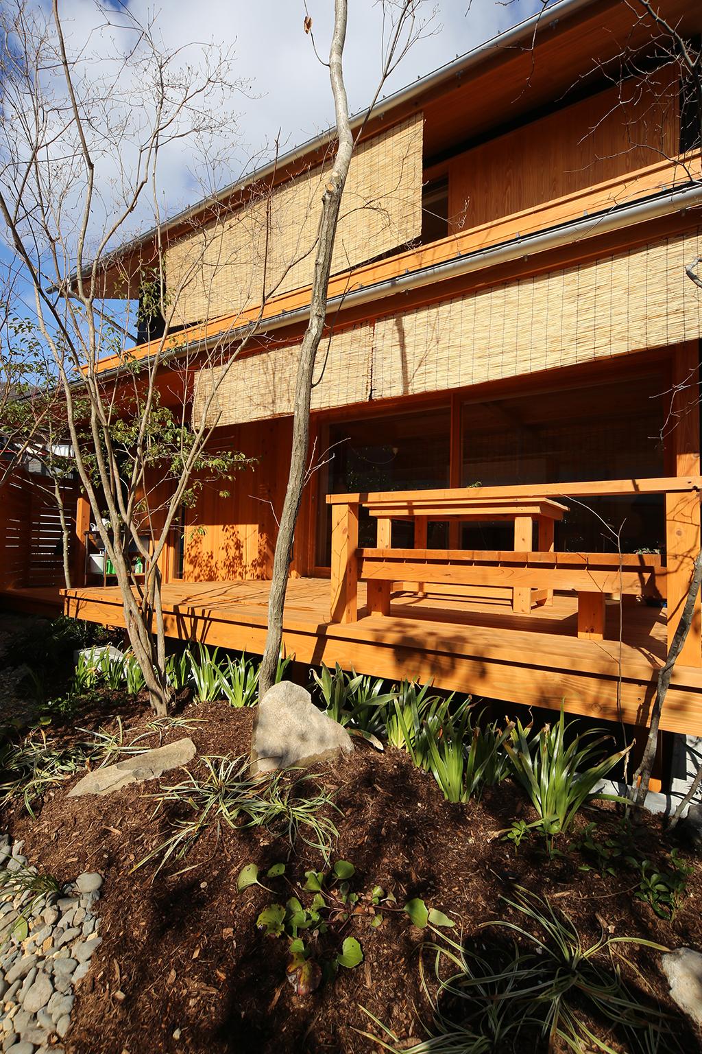 姫路市の木の家 外観