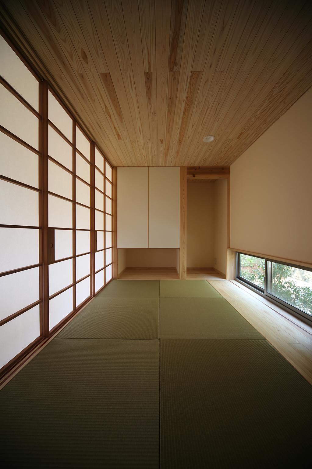 姫路市の木の家 和室