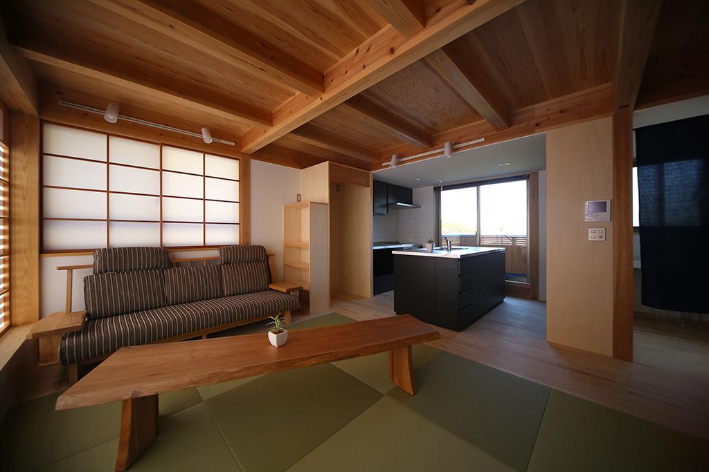 相生市の木の家 ひとつながりのLDK