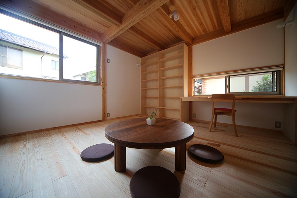 姫路市の木の家 ファミリールーム