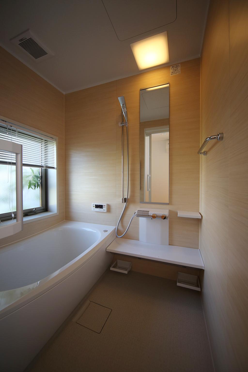 相生市の木の家 浴室