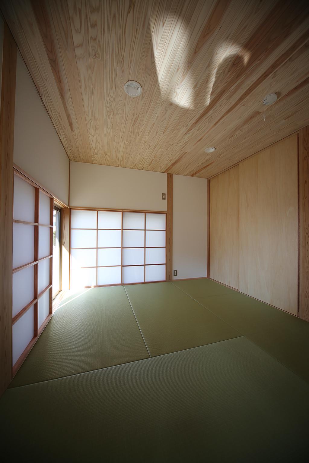 赤穂市の木の家 客間としても使える和室