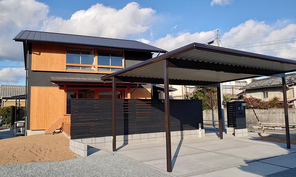 たつのの家完成見学会 会場外観