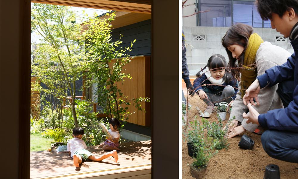 庭づくりワークショップ イメージ写真