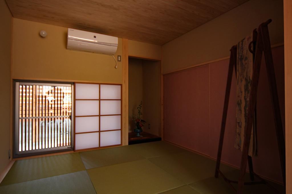 高砂市の木の家 和室