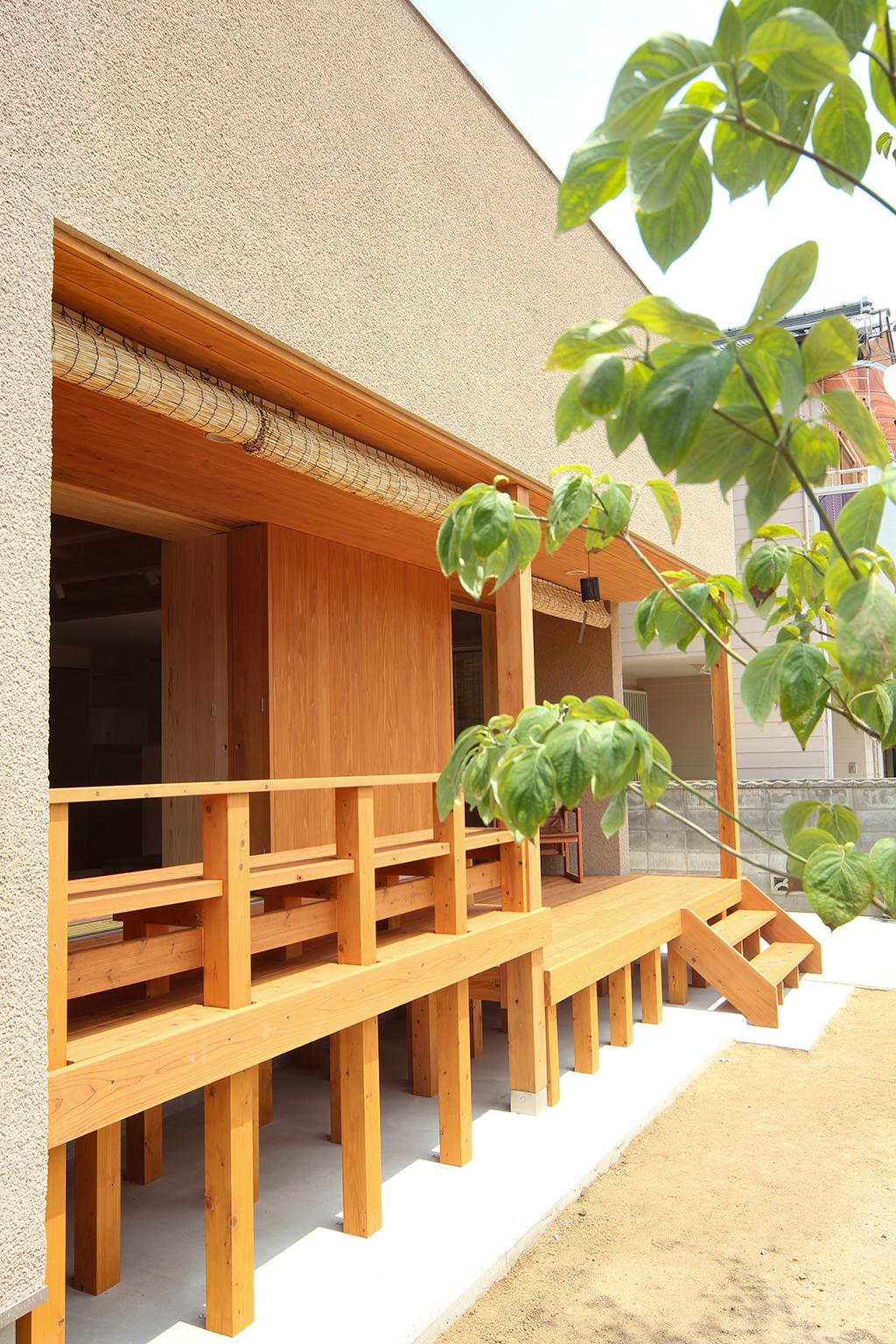高砂市の木の家 外観