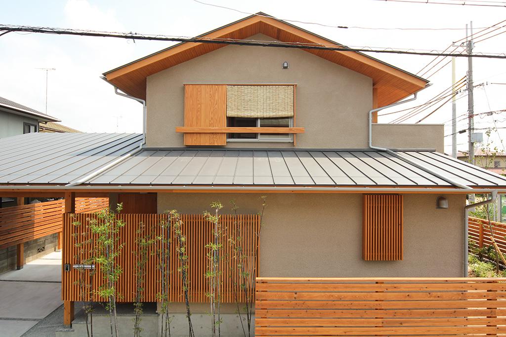 高砂市の木の家 そとん壁の外観