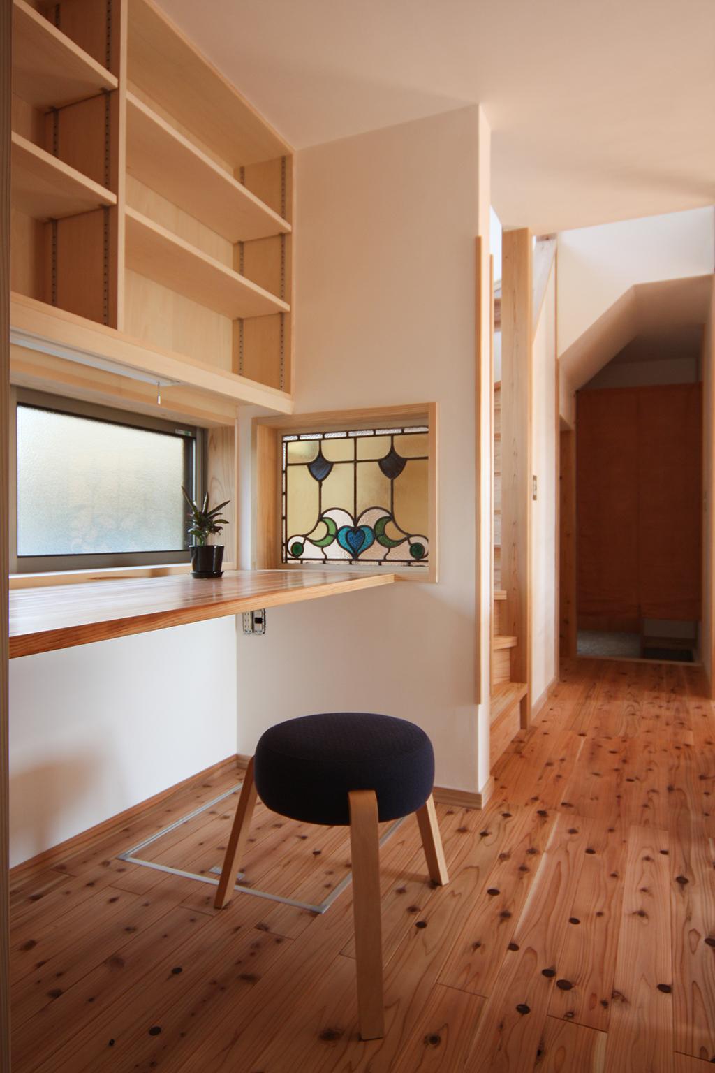 たつの市の木の家 家事スペース