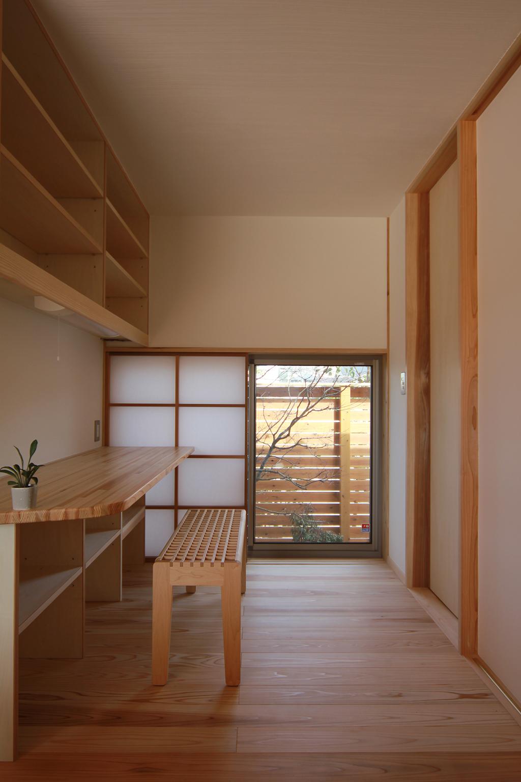 姫路市の木の家 家事コーナー