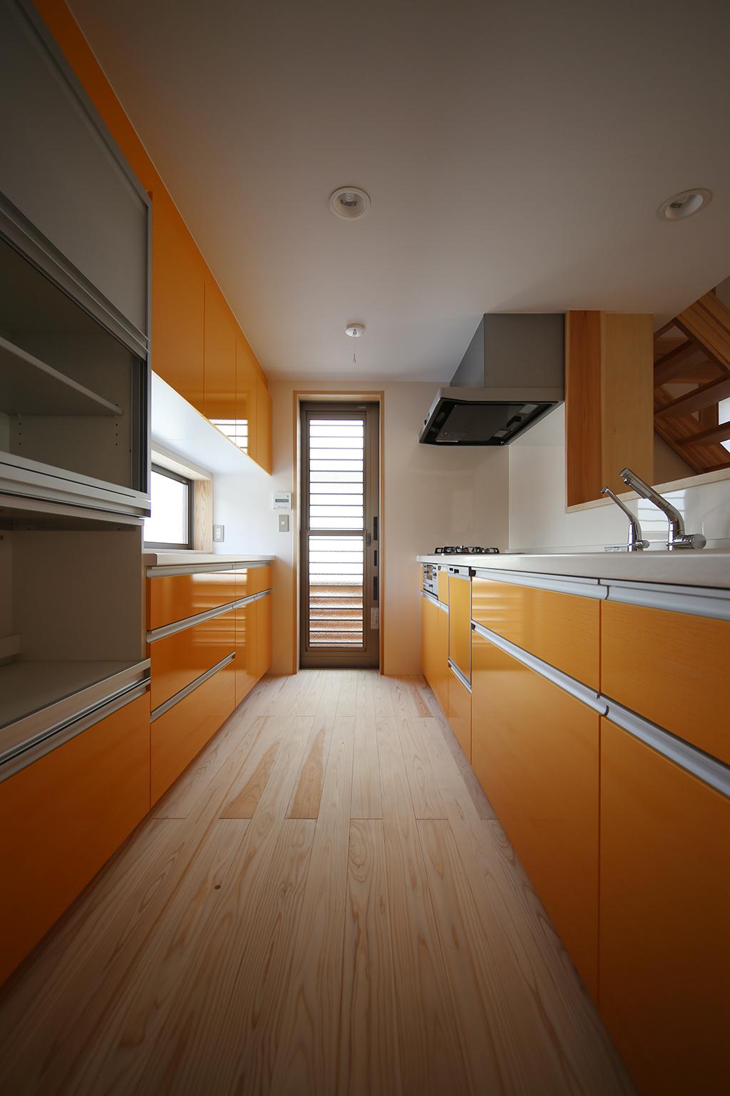 姫路市の木の家 キッチン