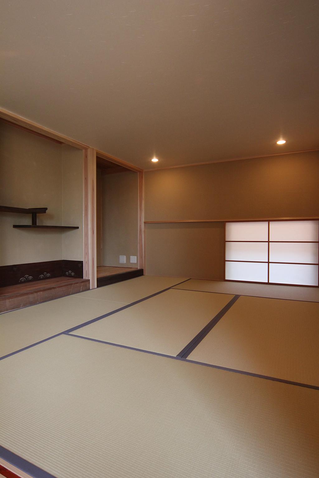 加古川市の家 和室