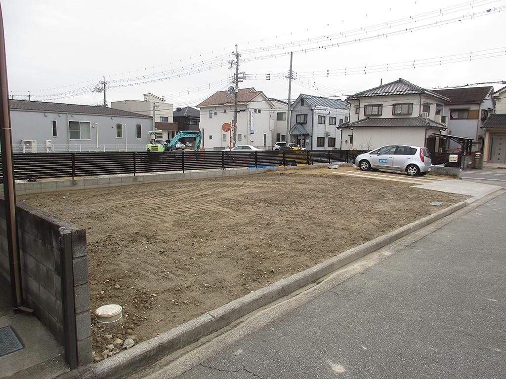 加古川市の木の家 解体後の計画地