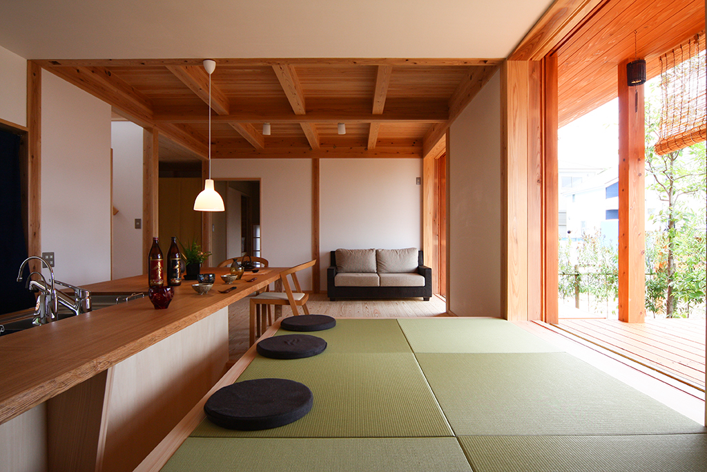 神戸市の木の家 LDK