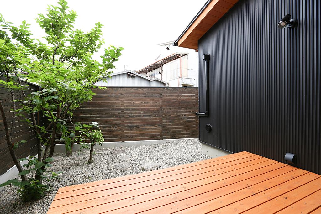 姫路市の木の家 庭