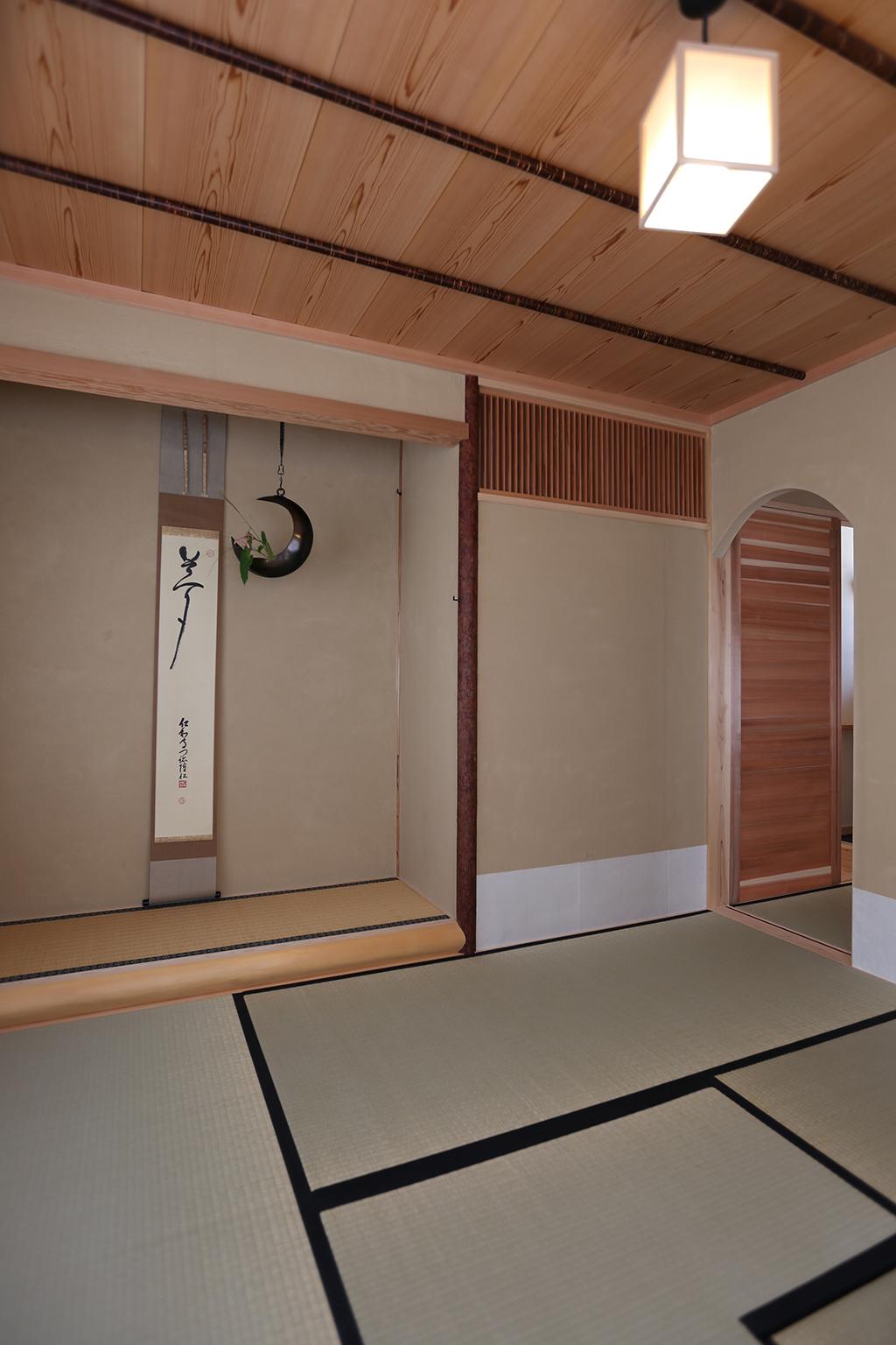 姫路市の木の家 茶室