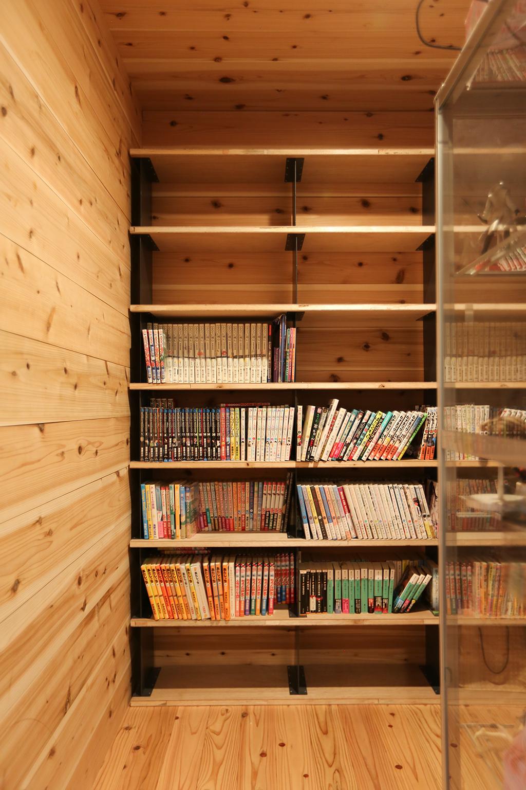 書写の家 書庫