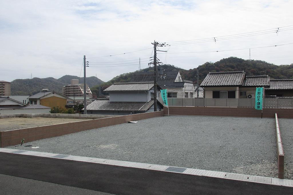 姫路市の木の家 計画地