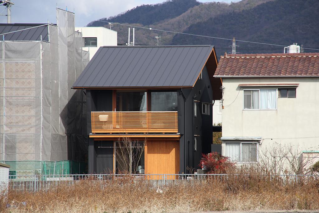 姫路市の木の家 コンパクトな外観