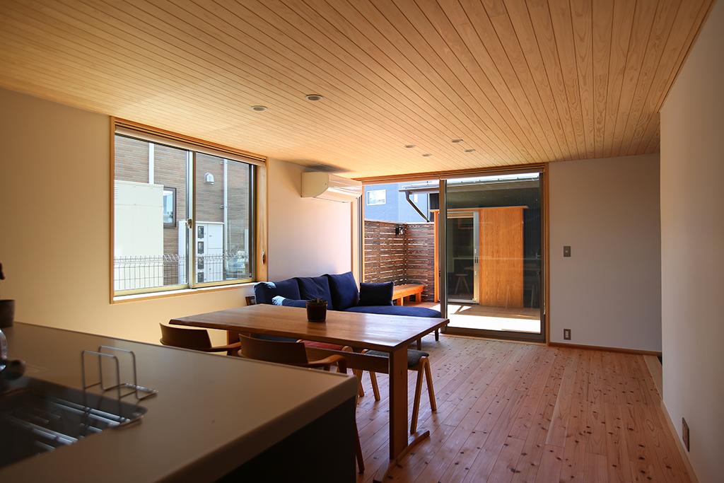 加東市の木の家 ひとつながりのLDK