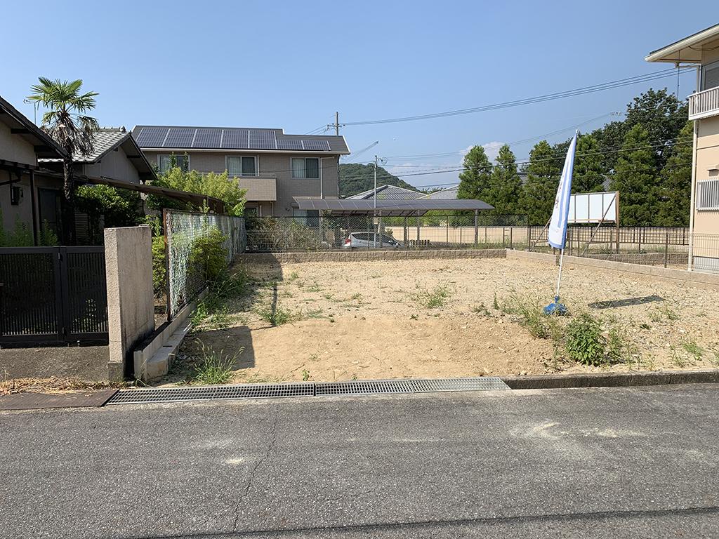 加古川市の木の家 計画地