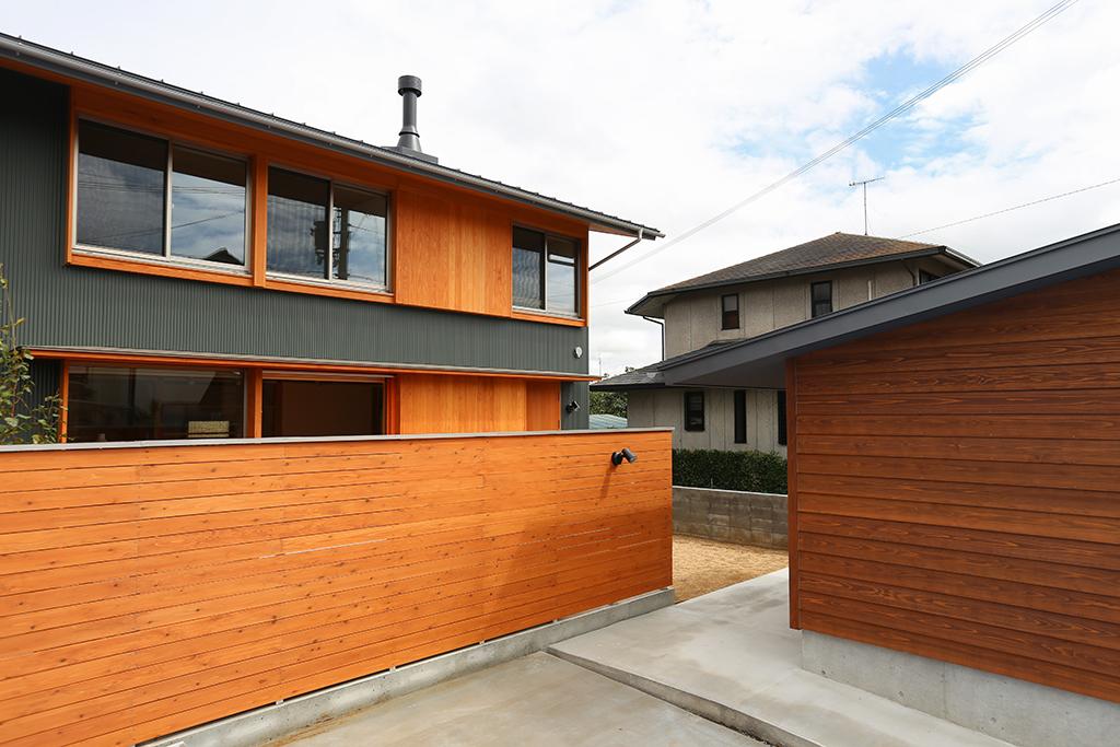 猪名川の家 外観イメージ写真