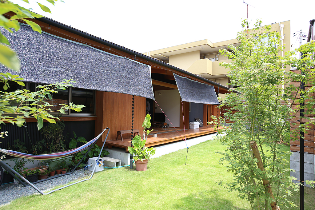 神戸市の木の家 外観