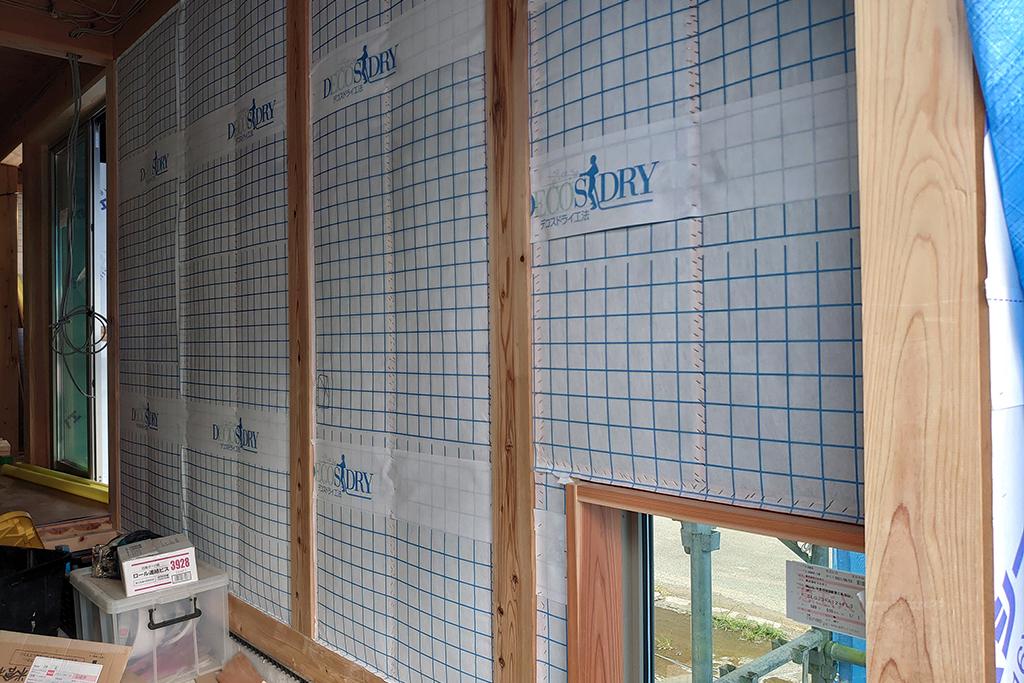 加古川市の木の家 断熱工事
