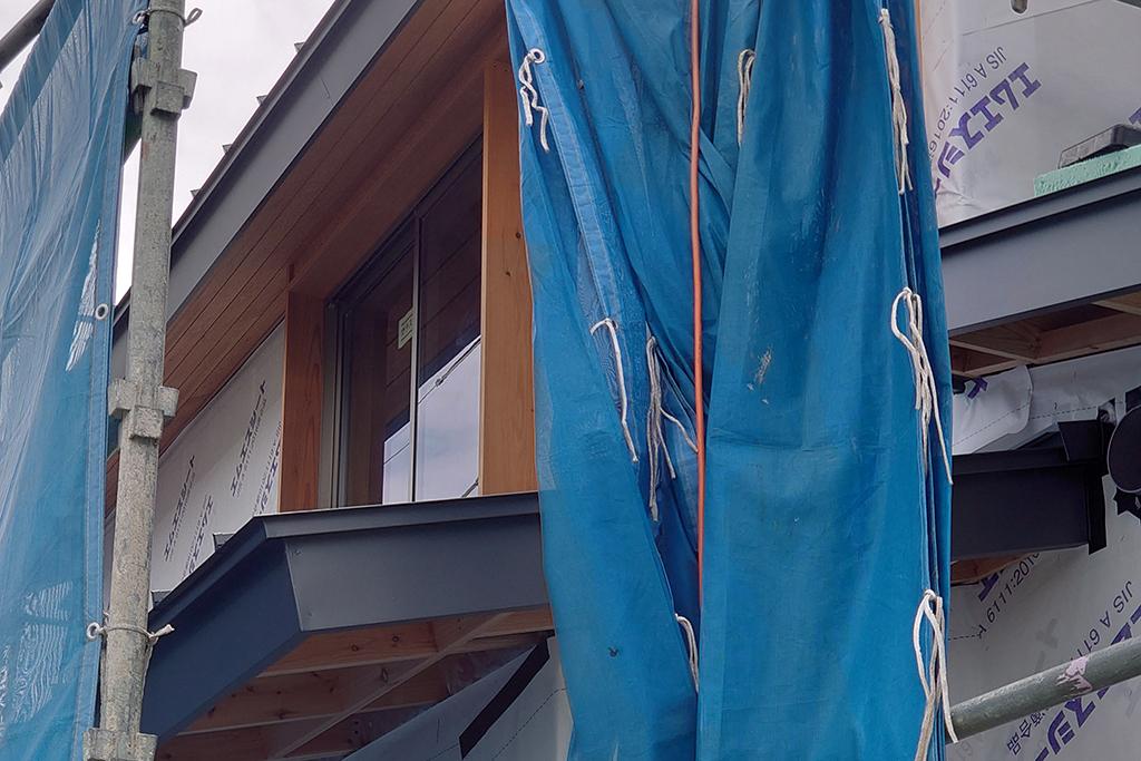 加古川市の木の家 戸袋
