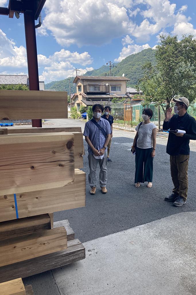 神戸市の木の家 番付確認