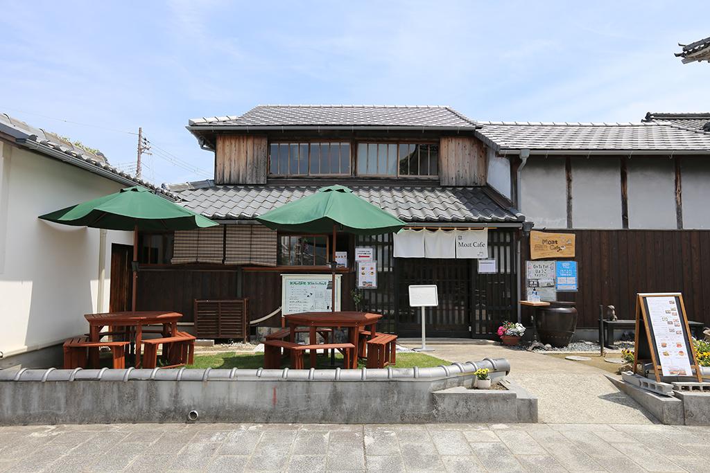 赤穂市 カフェ Moat Cafe 外観